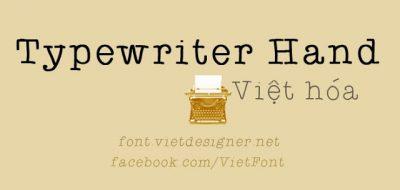 UVF Typewriterhand